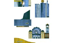 buildings / Illustrations and art of buildings