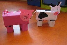 Skapa mjölkkartonger
