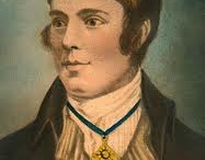 """January 25: Burns Night (Scotland) / Robert """"Rabbie"""" Burns (January 25, 1759 - July 21, 1796) was a Scottish poet and lyricist. He is widely regarded as the national poet of Scotland and is celebrated worldwide.  / by Daily Celebrations"""