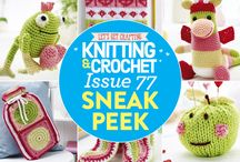 Issue 77 of LGC Knitting & Crochet magazine / Issue 77 of LGC Knitting & Crochet magazine, on sale from 18th December 2015 to 21st January 2016, comes with six balls of exclusive Paradise yarn! Your spring-themed colour pack also comes with a 4.5mm crochet hook and bamboo knitting needles so you can make a start on your next project straight away.