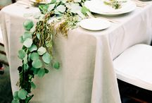 WEDDING | Table decor / Wedding table settings