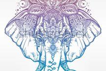 elephan tattoo