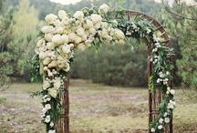 Wedding Ceremony / Aisle, arches, flowers, ceremony....