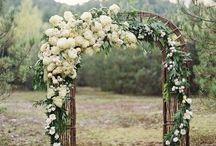 Wedding Ceremony / Aisle, arches, flowers, ceremony....