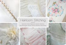 Sewing for children / Heirloom and vintage / by Retha Marcussen