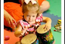 PreK Kids and music
