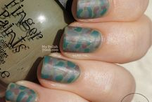 Fun for All Nails: Camoflauge