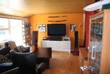 Wall mounted tv ideas