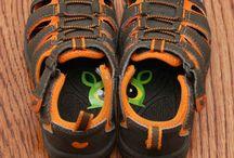 Skille høyre og venstre sko fra hverandre