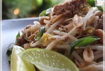 Pad thaï au porc haché