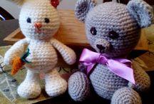amigurumi - jucarii crosetate- my toys