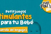 Petitjuegos estimulantes / Estimulación temprana, juegos estimulantes facilones y divertidos para disfrutar con tu bebé!