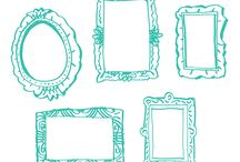 Photo frames / A range of photo frames from www.pict-it.co.uk