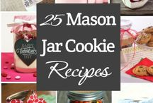 Mason jar cookies and gifts