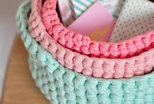 Crochet ~ Baskets & Containers / by Eve Slacum-Myers