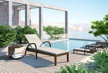 Grazia Royal / Polohovateľné lehátko GRAZIA s opierkami a čalúnením z okrúhleho umelého ratanu má jednoduchý mechanizmus s 5 – bodovým výškovo nastaviteľným operadlom.     Ideálne k relaxovaniu do SPA a wellness centier, k bazénom, na záhradu. Je stohovateľné.   Konštrukcia je zo zváraného hliníka, výplet z kvalitného okrúhleho polyuretanu, čalúnenie z polyesteru impregnovaného teflónom – môže sa prať, bez aviváže.