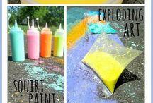 Chalk bombs