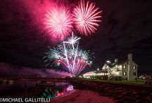 4th of July / Fireworks, Lighthouse Inn, Dennis Port Cape Cod