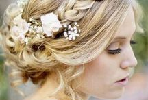 Rustic hair - Elise's Wedding