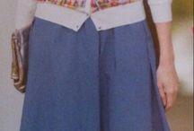 blue skirt coordinate / 15spring fashion