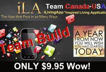 iLA / Affiliate at http://www.ilivingapp.com/isaiavasile   -you can earn 100$ .....2000$ on month ,just with 9,95$ invest on month - register referals and make your team ,only who affiliate at programs with 9,95$ can earn money -if you register 3 referal in first day your matrix can be complet in 1 week ,if you register 3 referal in  7 day your matrix can be complet in 7 week ,you can earn 2511,75$ in 1 week or 7 week