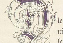 Capolettera miniato D