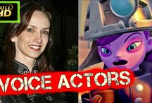 Skylanders Superchargers Characters and Voice Actors #Cutscenes