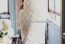 Crocheted Wedding Gowns / by Stacy Cashio