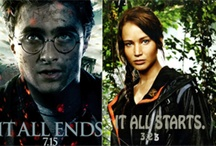 Harry Potter and Hunger Games / by Emilee Kuiphoff