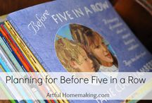 Before Five In A Row / by Danielle Leonard - The Frugal Navy Wife