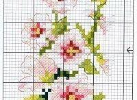 haft - kwiaty