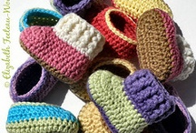 Crochet - Baby Booties / by Rozalyn Boggs