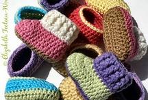 crochet booties / by Joy Allen