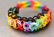 Rainbow looms / by Kathy By Anthomeli