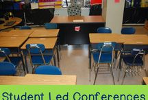 Education: student led conferences