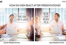 MenInOffice / How men behave in different scenarios at work! #MenInOffice #OfficeHumour #MensHumour