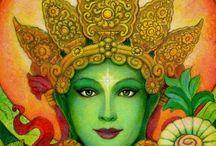 Goddesses & Buddhas