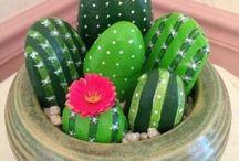 kaktus z kamene
