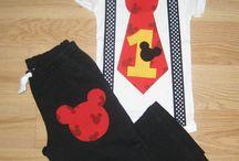 Mickey Mouse 1st birthday ideas / by Minerva Melgoza