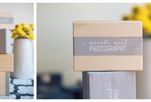 Products / Nicole Noel Photography Packaging and Product Designs