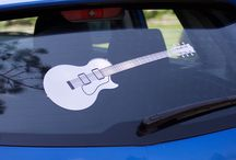 Vehicle Vinyl Decals / Vinyl Decals for use on cars and vehicles.