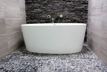 Baths and Freestanding Baths / This album is dedicated to shower baths, freestanding baths and drop in baths. Pretty much any bath that is invloved in a bathroom renovation. We have photos from our own renovations and other inspiration photos so enjoy  Bathrooms Perth On the Ball Bathrooms