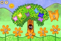 Flutterby Butterflies / Flutter through the flower garden to learn colors, ABCs and first rhyming words.  Illustrated by Whitbred award winner, Alan Aldridge, this multi-level matching game grows with your child through four levels of fun!