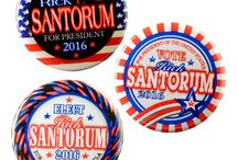 Political Pin-Back Buttons by Valxart / by Valx Art