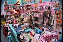 Scrapbook Store Display / Vintage Scrapbook and Paper Arts store...PHOENIX SCRAPBOOK STORE in AZ... / by Stampin D'Amour