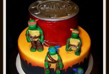 TMNT cake ideas / Zaaynes 5th birthday
