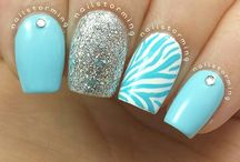 Nail Art / Beautiful and different types of nail art designs.