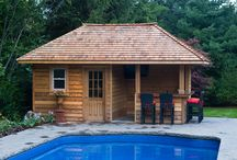pool shed