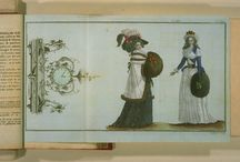 Fashion plates: 1780s / Fashion plates from the 1780s.