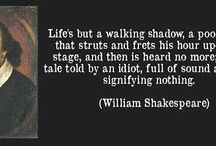 William Shakespeare quote about life